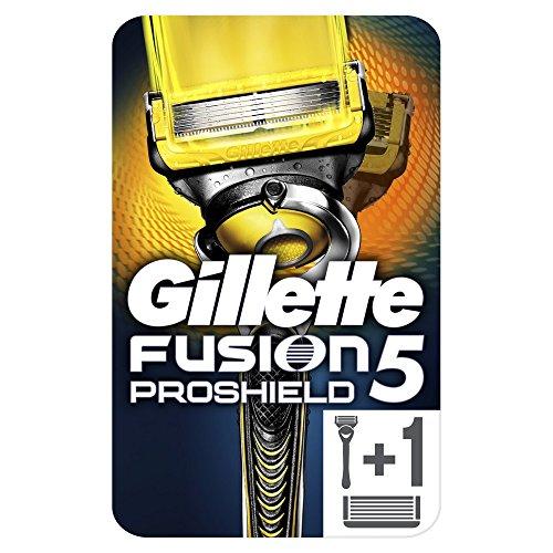 Gillette Fusion5 ProShield Rasoir Pour Homme + 2 Rechanges