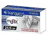 #6: Kangaro 24/6 Staples Pack, 20 Packs[ORIGINAL]