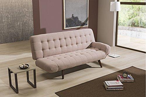 Nuovarredo divano letto dive tessuto tortora