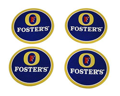set-di-4sottobicchieri-fosters-lager-gomma-mini-beverage-tappetini