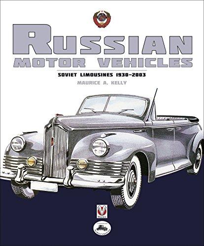russian-motor-vehicles-soviet-limousines-1930-2003-english-edition