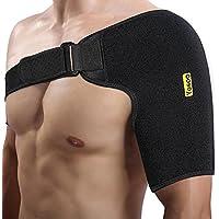 yosoo vendaje de hombro, neopreno ajustable de Compresión Respirable de embalaje Correa de banda, para hombro izquierdo o derecho (Basic)