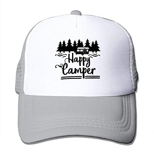lijied Women Men Baseball Mesh Cap Happy Camper Topee (Ram Man Kostüm)