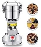 CGOLDENWALL 1500W Grinder per Cereali Elettrico 300g Mulino Superfine Veloce per 30 Secondi a Coperchio Aperto per Erbe di Cereali