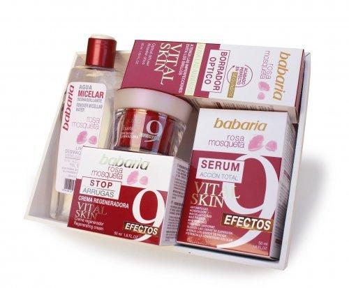 "babaria Rosa Mosqueta Vital Skin Geschenk-Set ""Gesichtspflege"" 330 ml"