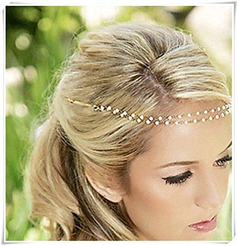Hair Jewelry Pearl Hair Pin Wedding Headpiece Hairband