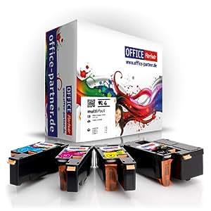 4er multiPack kompatible Toner zu DELL C1660 (BK/C/M/Y) für DELL C1660 ; DELL C1660W