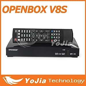 Récepteur satellite MU 20pcs origine Openbox V8S soutien V8 2xUSB USB Wifi WEB TV Cccamd Newcamd mgcamd YouPorn Prévisions Météo
