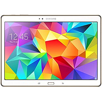 """Samsung Galaxy Tab S Tablette tactile 10,5"""" (16 Go, Android KitKat 4.4, Bluetooth 4.0, Wi-Fi, Blanc)"""