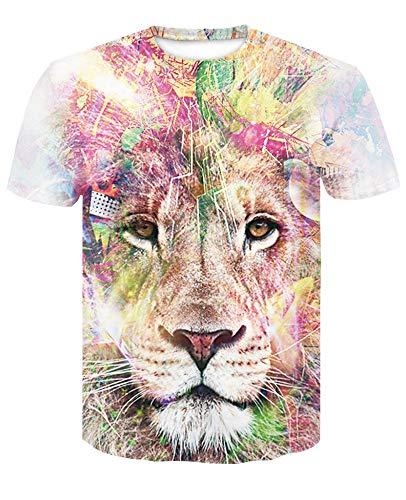 Löwen Kostüm Für Teenager Mädchen - XIAOBAOZITXU T-Shirts Herren Und Damen Mode