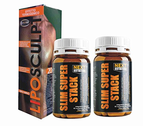 Abdominal-Kit-Thermogenic-cream-fat-burning-1-box-Lipo-Sculpt-200-ml-2-box-Slim-Super-Stack-Powerful-Thermogenic-Slimming-Fat-Burner-14-active-ingredients-against-fat-With-Garcinia-and-Carnitine