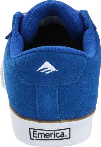 Emerica The Hsu 2 Low, Baskets mode homme Bleu (Blue/White/Gum)