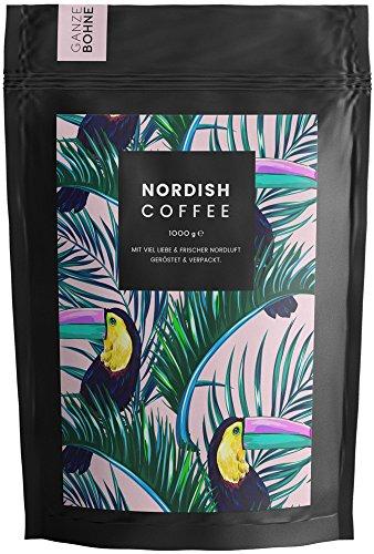 Nordish.Coffee Peruhondas – 1 kg Kaffeebohnen – Premium Kaffee ganze Bohnen - Arabica und...