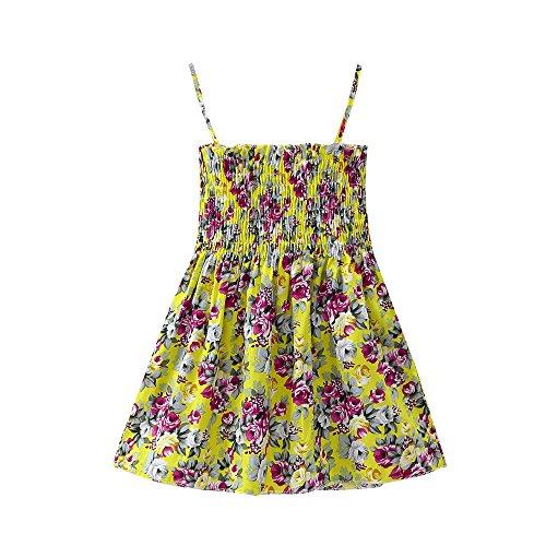 Diath Kinderbekleidung Kinder MäDchen Kleid, MäDchen Kleid Prinzessin Dress Drucke TräGerlosen Festzug Prinzessin Tutu Kleider
