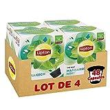 Lipton Thé Vert Marrakech Mint, Capsules Compatibles Nescafé Dolce Gusto, Label Rainforest Alliance 48 Capsules (Lot de 4x12 Capsules)