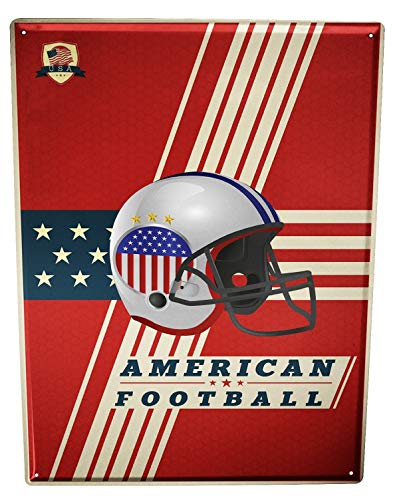 LEotiE SINCE 2004 Blechschild Fun American Football