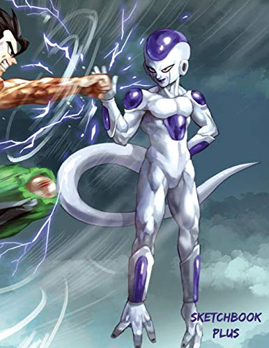 Sketchbook Plus: DBZ Art Mix: 100 Large High Quality Sketch Pages (Gohan and Frieza)