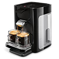 Philips Senseo Quadrante HD7865/60 Coffee Pod Machine Water Tank, Large, Black