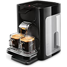 Philips Senseo HD7865/60 Quadrante Kaffeepadmaschine, XL-Wassertank, schwarz