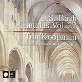 J.S. Bach: Cantatas, Vol. 22 by Koopman: cnd/Amsterdam Bar.. (2006-11-14)