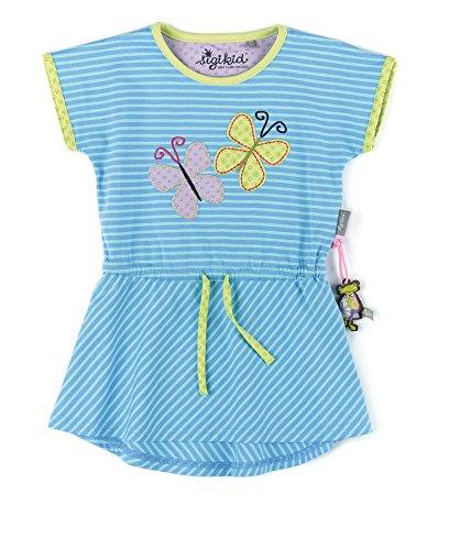 Sigikid Mädchen Kleid, Mini, Blau (Alaskan 596), 98