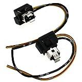 H1SCHEINWERFER NEBEL Lampe Glühbirnen Ersatz Sockel Halterung Verkabelung Stecker Plug