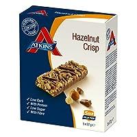 Atkins Chocolate Hazelnut Crisp Bar, 185 gms (5 *37gms)