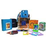 Fujifilm Instax Mini 9 Festive Pack Instant Camera (Cobalt Blue)