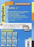 Image de Maths 2de - Prépabac Cours & entraînement: Cours, méthodes et exercices - Seconde