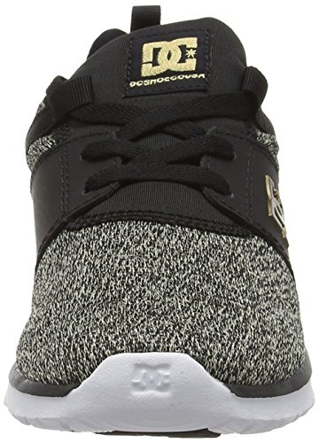DC Universe Damen Heathrow Se Sneakers Schwarz (Black Dark Used - BKZ)