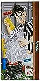 Best Beistle Of The Doors - Beistle 57105 1-Pack Referee Restroom Door Cover Review