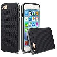 LoveOlvidoD S708-1 Zwei in Einem Handy Fall Für iPhone 7 Luxus Stoßfest TPU Abdeckung preisvergleich bei billige-tabletten.eu