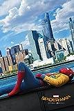 Pyramid International Maxi poster du teaser de « Spider-Man: Homecoming », 61 x 91,5 x 1,3 cm, multicolore, plastique/verre...