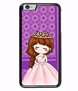 Fuson 2D Printed Girly Designer back case cover for Apple iPhone 6 Plus - D4446