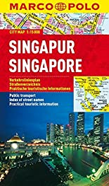 MARCO POLO Cityplan Singapur 1:15 000 (MARCO POLO Citypläne) hier kaufen