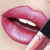 CICIYONER Damen Metall Lippenstift Lip Gloss Liquid Lippe Kosmetik, 24 Farben (07 #)