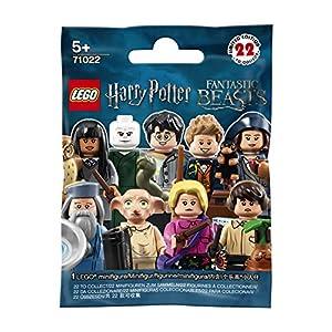 LEGO Minifigures 71022, Harry Potter e gli Animali Fantastici, Modelli Assortiti, 1 Pezzo 5702016108668 LEGO