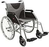 "Drive DeVilbiss Healthcare Ultra Lightweight Enigma Self-Propelled Wheelchair with 20"" Seat Width"