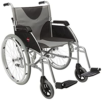 """Drive DeVilbiss Healthcare Ultra Lightweight Enigma Self-Propelled Wheelchair with 20"""" Seat Width"""