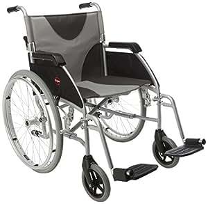 Drive Medical LAWC011A Rollstuhl aus Aluminium, ultraleicht, 51 cm