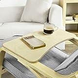 SoBuy® FBT33-N 66cm Lang, Brett , Ablage für Schaukelstuhl or Relaxsessel, Tablett