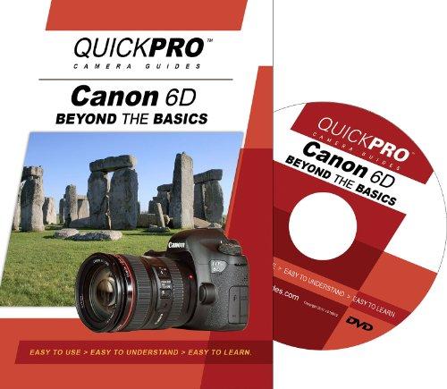 Preisvergleich Produktbild Canon 6D Beyond the Basics DVD by QuickPro Camera Guides