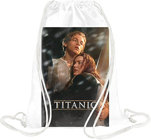 Teeshell Titanic Movie Poster Drawstring bag -