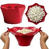Forno a microonde del Silicone Popcorn Ciotola Cucina Easy Tools Magica della Famiglia Popcorn Maker Strumenti di Cottura Contenitore Sano