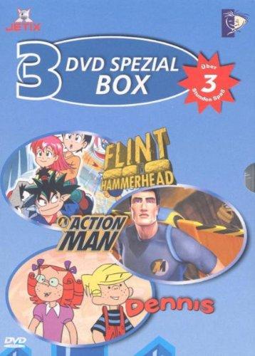 DVD Spezial Box 1 (3 DVDs: Flint Hammerhead/Action Man/Dennis)