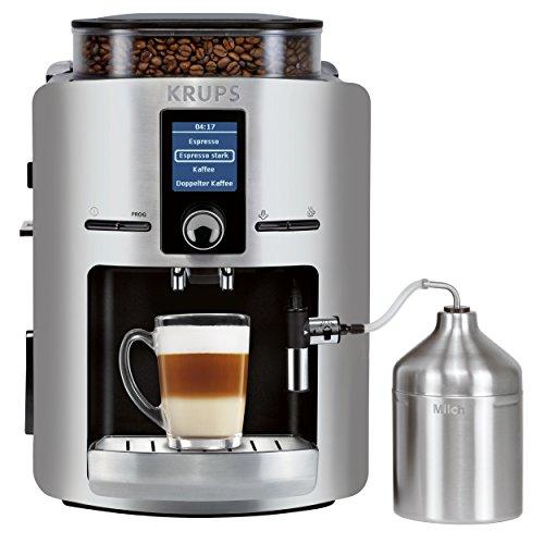 Krups – EA826E – (Numéro de l'article: EA826E10) – Machine à café automatique, 1450 watts, Argent