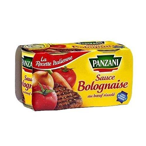 Panzani sauce bolognaise 2x190g - ( Prix Unitaire ) - Envoi Rapide Et Soignée