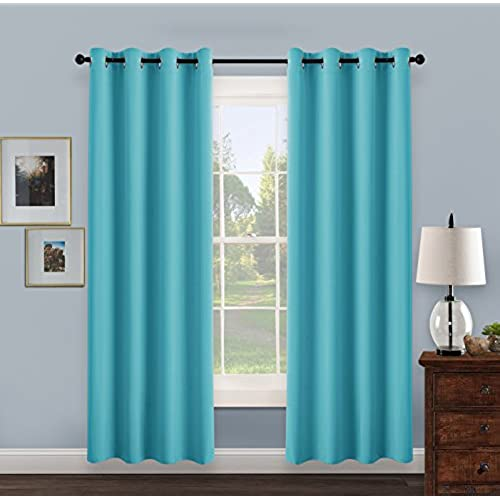drop turquoise pony treatment by wide blackout living co window eyelet uk for windows home bedroom blinds curtains pcs slp room amazon dance
