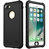 iPhone 7/iPhone 8 Waterproof Case, iThrough 2 Meter Underwater Case for iPhone 7/8, Dust Proof, Snow Proof, Shockproof , Heavy Duty Protective Carrying Slim Case Cover Protector for iPhone 7/8, 4.7""