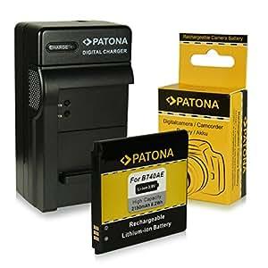 3en1 Chargeur + Batterie B740 / B740AE / B740AC pour Samsung Galaxy S4 Zoom   Galaxy S4 Zoom LTE   SM-C101   SM-C1010 - Samsung Galaxy K Zoom 3G   SM-C111   SM-C1158   SM-C115   SM-C105 - Samsung NX Mini - EV-NXF1   NX3000 [ Li-Ion; 2150mAh; 3.8V ]